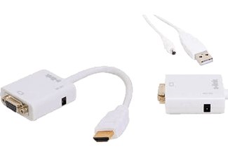 S-LINK SL HVS12 HDMI to VGA Audio Çevirici Adaptör
