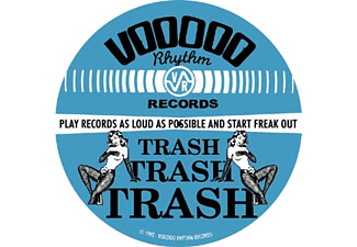 Voodoo Rhythm Blue Girl Logo