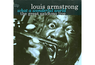 Louis Armstrong - The Great Satchmo Live - What a Wonderful World (Vinyl LP (nagylemez))