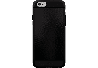 BLACK ROCK Hammered, Apple, Backcover, iPhone 6, iPhone 6s, Kunststoff/Metall/Thermoplastisches Polyurethan (TPU), Schwarz