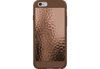 BLACK ROCK Hammered, Apple, Backcover, iPhone 6, iPhone 6s, Kunststoff/Metall/Thermoplastisches Polyurethan (TPU), Kupfer