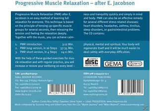 Carola Riß Tafilaj - Progressive Muscle Relaxation, E.Jacobson - (CD)