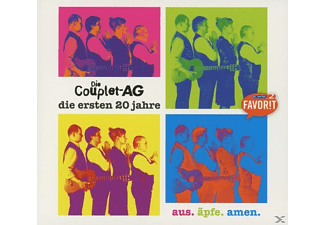 Couplet Ag - Aus.Äpfe.Amen - (CD)