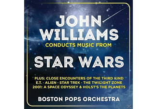 Boston Pops Orchestra John Williams Conducts Music From Star Wars CD