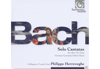 Philippe/kooy/scholl Collegium Vocale Gent/herreweghe - Solo Cantatas For Alto / For Bass - (CD)