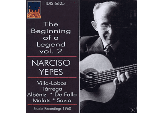 Narciso Yepes - The Beginning Of A Legend, Vol.2 - (CD)
