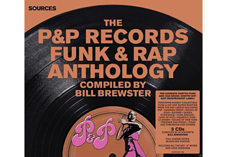 Various - P&P Records Funk & Rap Anthology - (CD)