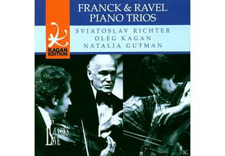 Gutman - Franck/Ravel Piano Trios - (CD)