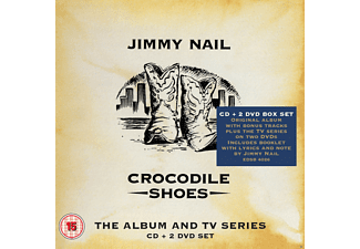 Jimmy Nail - Crocodile Shoes-The Album And Tv Series Box Set [CD + DVD Video]