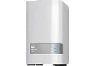 WD My Cloud™ Mirror Gen 2, 8 TB, Weiß, 3.5 Zoll