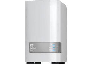 WD My Cloud™ Mirror Gen 2, 4 TB, Weiß, 3.5 Zoll