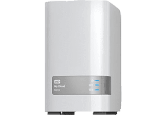 WD My Cloud™ Mirror™ Gen 2, 6 TB, Weiß, 3.5 Zoll