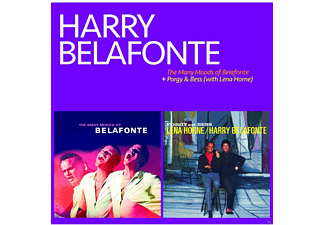 Harry Belafonte - The Many Moods Of Belafonte+Porgy & Bess (With - (CD)