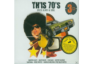 VARIOUS - Th'is 70's-Disco, Glam & Soul (Tw.Re-Recorded) - (CD)