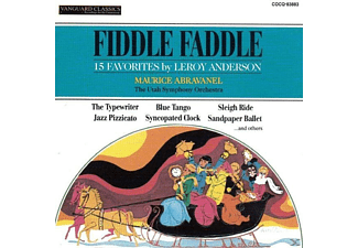 Utah Symphony Orchestra - Fiddle Faddle - (CD)
