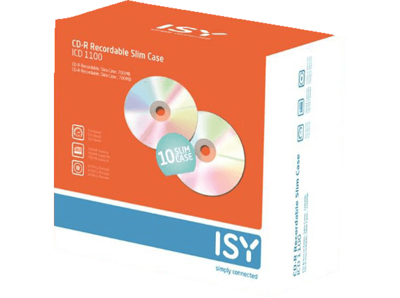 ISY ICD 1100 αξεσουάρ αποθήκευση δεδομένων cd   dvd   blu ray laptop  tablet  computing  αποθ