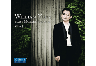 William Youn - Klaviersonaten Kv 279, 331, 533 - (CD)