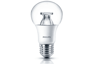 philips led lampe 9 w 60 w e27 warmes licht dimmbar mediamarkt. Black Bedroom Furniture Sets. Home Design Ideas