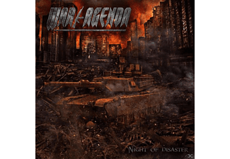 War Agenda - Night Of Disaster - (CD)