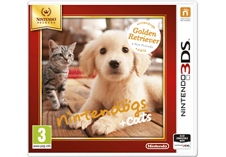Nintendo Selects Nintendogs + cats Golden Retriever 3DS