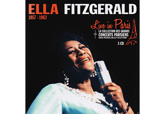 Ella Fitzgerald - Live In Paris 1957-1962 - (CD)