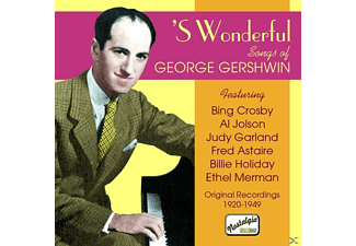 VARIOUS - 's Wonderful-Gershwin Songs - (CD)