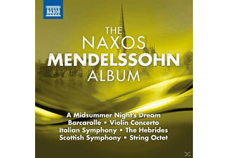 VARIOUS - The Naxos Mendelssohn Album - (CD)