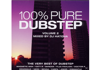 VARIOUS - 100 Percent Pure Dubstep Vol.2 [CD]