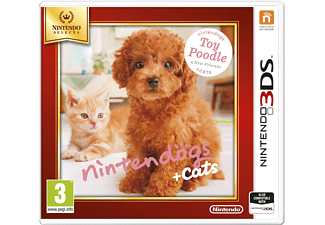 Nintendo Selects Nintendogs + cats Toy Poodle 3DS