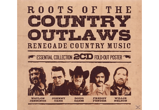 VARIOUS - Roots Of The Country Outlaws-Essential Collection - (CD)