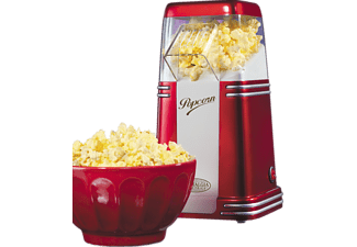 SALCO SNP 8 Mini Hot Air, Popcornmaker, Rot/Silber
