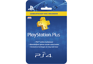 Sony PlayStation PlayStation Plus Card 3 Maanden NL