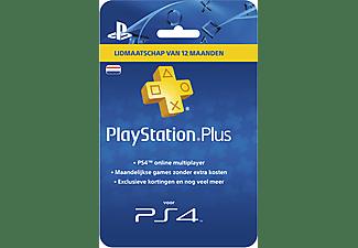 Sony PlayStation PlayStation Plus Card 12 Maanden NL