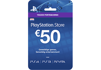 PlayStation Network Card - 50 Euro  PlayStation