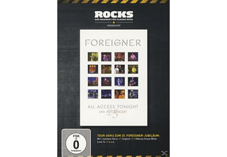 Foreigner - 25 All Access Tonight-Live (Rocks Edition) - (DVD)