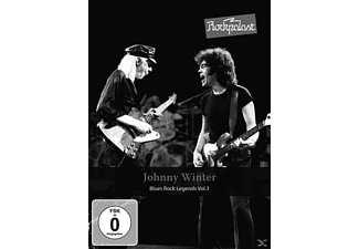 Johnny Winter - ROCKPALAST BLUES ROCK LEGENDS 3 - (DVD)