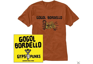 Gogol Bordello - Gypsy Punks-Cd+T-Shirt Bundle [CD]