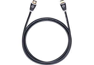 OEHLBACH 127, High-Speed-HDMI-Kabel, 1500 mm, Schwarz