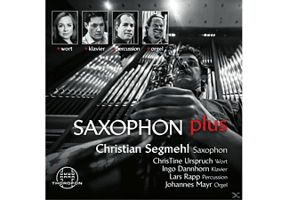 Saxophon Christian Segmehl - Saxophon Plus - (CD)