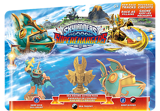 SKYLANDERS Sea Racing Action  Pack: Deep Dive Gill Grunt + Reef Ripper