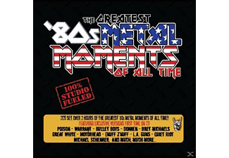 VARIOUS - Greatest '80s Metal-Moments Of All-Time - (CD)