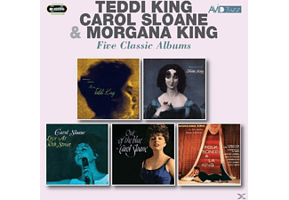 Teddi King, Carol Sloane, Morgana King - 5 Classic Albums [CD]
