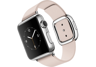 APPLE Watch 38 mm - Steel/Soft Pink Modern Buckle Small