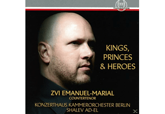 Zvi Emanuel-marial - Kings, Princes & Heroes - (CD)