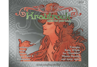 VARIOUS - Krautrock-Music For Your Brain Vol.5 [CD]