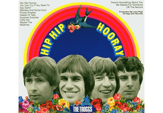 The Troggs - HIP HIP HOORAY (+ 11 BONUS TRACKS/DIGITAL REM.) [CD]