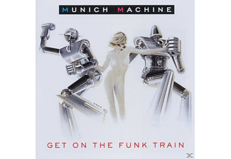 Munich Machine - Get On The Funk Train - (CD)