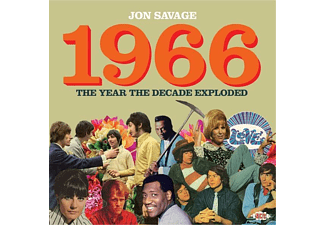 VARIOUS - Jon Savage 1966-The Year The Decade Exploded - (CD)