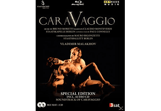Connelly/Staatsballett Berlin - Caravaggio (+CD) [Blu-ray + CD]
