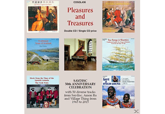 VARIOUS - Pleasures And Treasures 2015 [CD]
